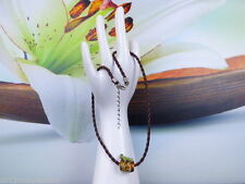 Handgefertigte ovale Modeschmuck-Halsketten