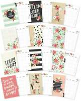 Carpe Diem Bloom Double-Sided A5 Planner Inserts Monthly, Undated 816502025065