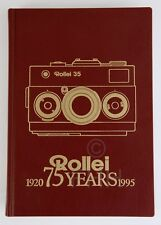 Rollei 35 Buch Rollei 75 Jahre (1920 - 1995) Limited Edition!!!