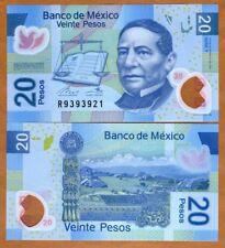 Mexico, 20 Pesos, 2016, Polymer, P-122-New, Y-Serie UNC