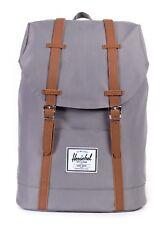 Herschel Retreat Backpack Grey / Tan Freizeitrucksack Rucksack Tasche Neu