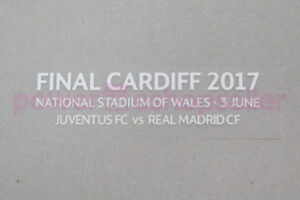 Real Madrid UEFA Champions League Final Cardiff 2017 Match detail Badge/Patch