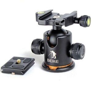 "BEIKE 1/4"" Scre Ball Head Ballhead with Quick Release Trip  BK-03 Camera Plate"