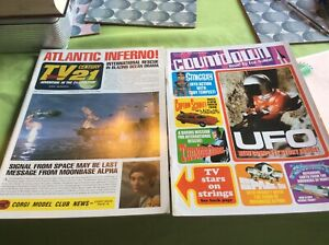 TV Century 21. FAB yearbooks 1 and 2. Gerry Anderson. Thunderbirds. Space 1999