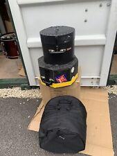 More details for free p&p. 10, 12, tom 14 floor tom cases bags for drum kit.  cse1082026