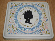 The Queen's Diamond Jubilee 1952-2012 Storage Box 18x18x6.5cm for Small Items