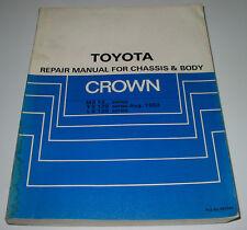 Repair Manual Toyota Crown MS 122 123 LS YS 120 Werkstatthandbuch August 1983!