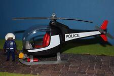 Playmobil negro Police helicóptero CityLife