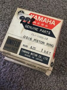 Yamaha Piston Ring Nos .25 DT1 DT1mx 214-11601-12