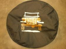 Brand new Jeep Spare tire cover cartoon logo denim mopar accessory 82213864