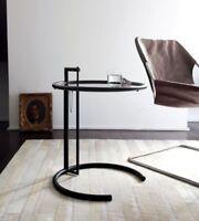 kleiner Tisch Eileen Gray einstellbar Höhe Noir Version limited edition selten