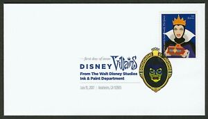 #5213 Disney Villains: The Queen, Digital Color FDC ANY 5=