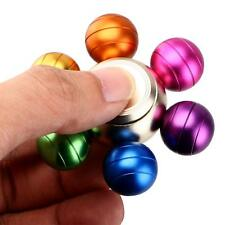 6 Arm Colorful Ball Hand Spinner EDC Focus Gyro Toy ADHD Autism Stress Reducer