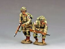 """KING & COUNTRY DD288-1 WWII D-DAY  """"U.S. 82nd PARATROOPERS MOVING FORWARD..."""""""