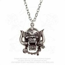 Alchemy Gothic Motorhead Warpig Pendant Necklace Heavy Metal Rock Lemmy PP505