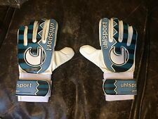Uhlsport Roll Finger remake gardien de but Gants Rare Rétro Vintage
