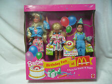 1993 BARBIE BIRTHDAY FUN AT McDONALD'S WITH STACIE & TODD
