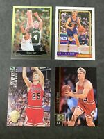 STEVE KERR  ( HOF ) SPURS/ BULLS / CAVS 4 CARD PLAYER LOT