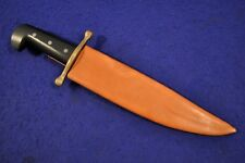 FLAT MINT! ORIGINAL WWII US CASE XX V44 BOWIE COMBAT KNIFE & SHEATH