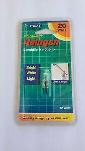 Feit Electric 20 Watt Halogen Bi Pin Light Bulbs BPQ20T3  EB004-50