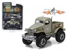 1941 MILITARY 1/2 TON 4X4 SGT. ROCK STACEY DAVID'S GEARZ 1/64 GREENLIGHT 44750 D