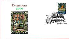 Kwanzaa 2020, Family with Candles, Black Heritage, First Day Cover