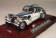 Atlas 1/43 Silver Cars Bugatti Coupe Atlantic in Plexi Box #304
