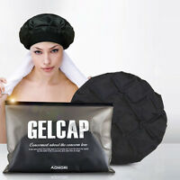 CORDLESS Hair Thermal Heating Gel Cap Therapy Wrap Heatcap Home care treatment