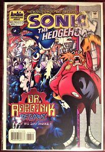 SONIC The HEDGEHOG Comic Book #76 November 1999 TALES GREAT WAR Bag & Board MINT