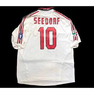 🔥Seedorf #10🔥AC Milan 2005/06 Away Football Shirt Original - Size XL