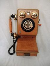"""VINTAGE  CRANK STYLE """"SPIRIT OF ST LOUIS""""  PUSHBUTTON  WALL PHONE - PARTS"""