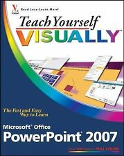 Teach Yourself VISUALLY Microsoft Office PowerPoint 2007 (Teach Yourself VISUALL