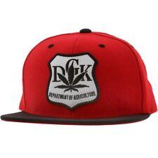 DGK Agriculture Snapback Cap (red / black)