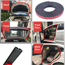 5M Car Door Edge Trim Rubber Seal Strip Soundproof Anti-dust Universal Stickers