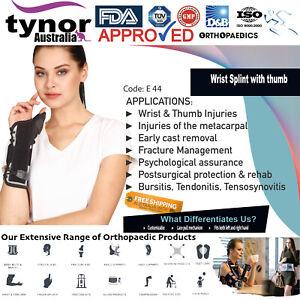 Tynor® Wrist Splint Thumb Spica Brace Support Arthritis Carpal Tunnel Tendonitis