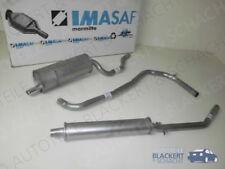 IMASAF Auspuffset ab Mitteltopf Fiat Ritmo Bertone Cabriolet 1.3 + 1.5 1983-1989