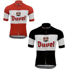 Duvel Cycling Jersey Short Sleeve Gear Bike Wear Racing Bicycle Clothes Retro