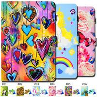 PU Leather Protective Tablet Case Cover Flip Smart Wake/Sleep Skin For Samsung