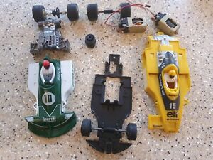 Scalextric Car Spares C129 March Ford 240 6 Six Wheeler C134 Yellow Renault Elf
