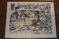 Gabriel Zendel lithographie originale numérotée et signée 4