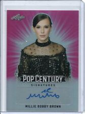2018 Pop Century Prismatic Pink AUTO Millie Bobby Brown #d 3/10 STRANGER THINGS