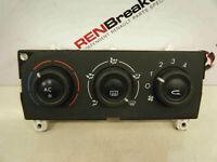 Renault Laguna 2001-2005 Heater Controls Dials Aircon Unit 52409267 52409267