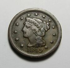1849 LARGE CENT ~ NICe!  COMBINED SHIPPING  LOT R57