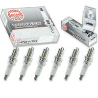 6 pcs NGK V-Power Spark Plugs for 2011 Mitsubishi Endeavor 3.8L - Engine Kit on