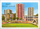 IMAGE CARD München Residential district Munich Bavaria Bayern Germany 60s