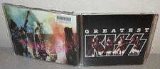 KISS Greatest Kiss CD 1996 BMG Record Club D118342 Ace Frehley Gene Simmons