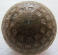 VINTAGE ST. MUNGO COLONEL PLUS 31 CIRCULAR MESH BALL CIRCA 193O'S