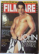 "Filmfare bollywood collection Magazine ""John Abraham Is The Sex Symbol""Sep.2005"