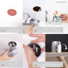 Globe Electric 4 in. Brushed Nickel Bathroom Recessed Lighting Kit 4-Pack