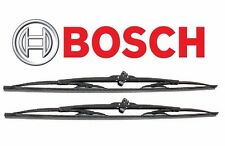 "For Audi Chevrolet For Mercedes Set of 2 Front Windshield Wiper Blades 22"" BOSCH"